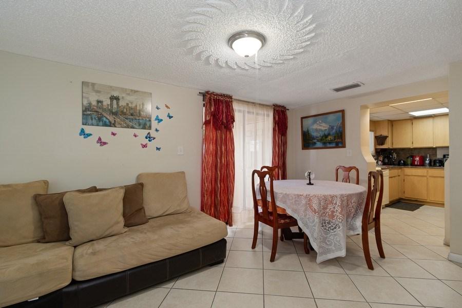 Real Estate Photography - 2027 Fletcher St, Hollywood, FL, 33020 - Living Room / Dining Room