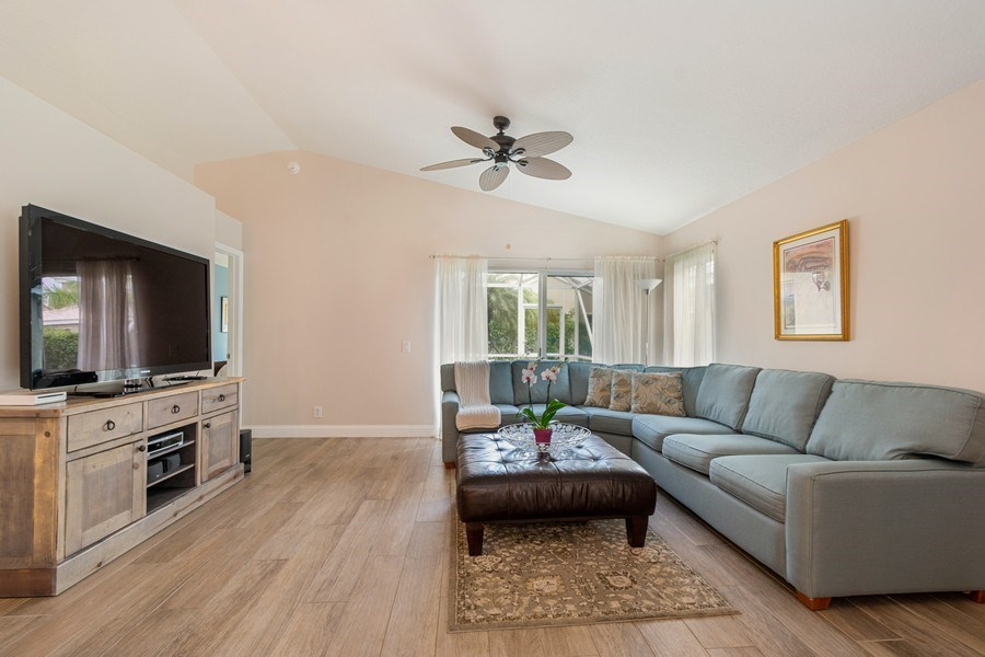 Real Estate Photography - 1536 Salerno Cir, Weston, FL, 33327 - Living Room