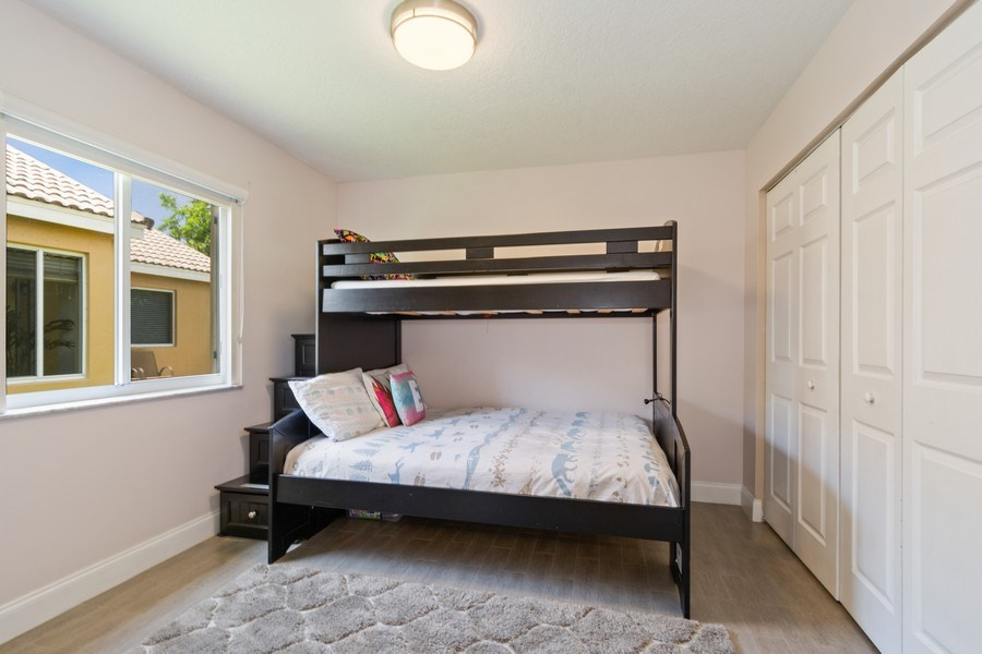 Real Estate Photography - 1536 Salerno Cir, Weston, FL, 33327 - Bedroom