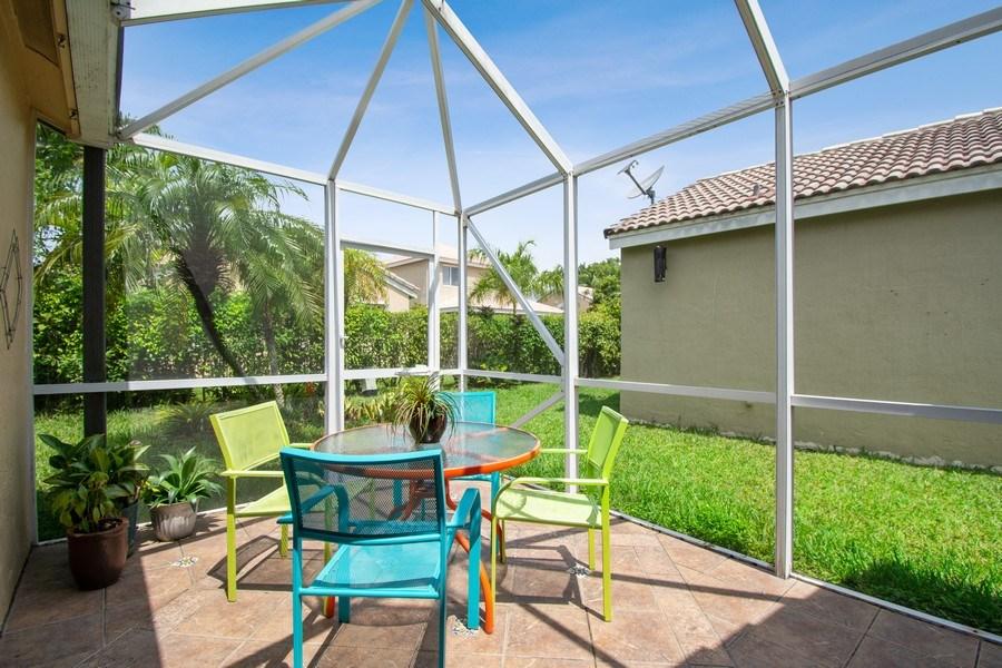 Real Estate Photography - 1536 Salerno Cir, Weston, FL, 33327 - Patio