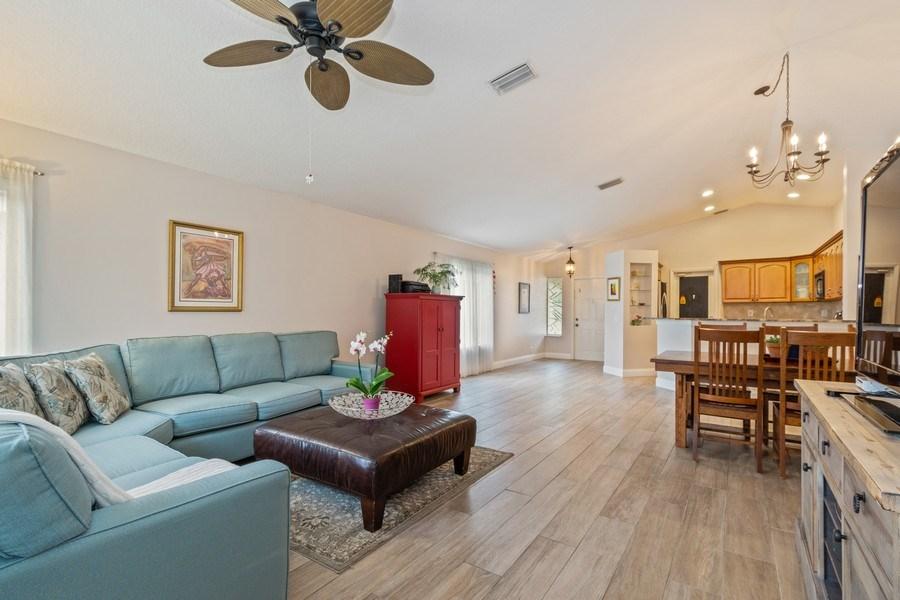Real Estate Photography - 1536 Salerno Cir, Weston, FL, 33327 - Kitchen / Living Room