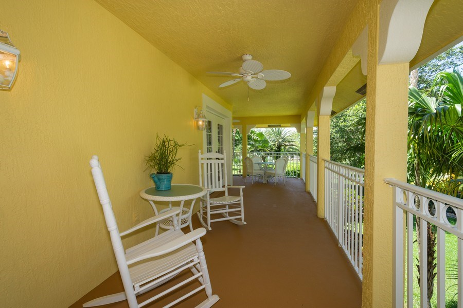 Real Estate Photography - 7250 NW 82nd Terrace, Parkland, FL, 33067 - Balcony