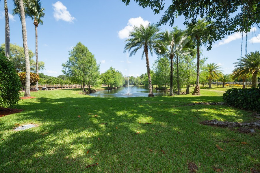 Real Estate Photography - 7250 NW 82nd Terrace, Parkland, FL, 33067 - Lake