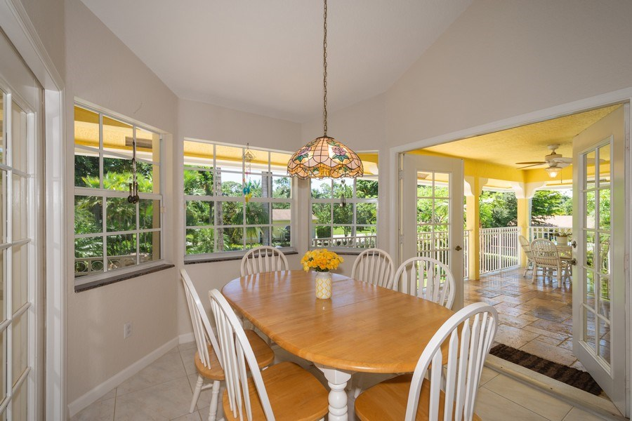 Real Estate Photography - 7250 NW 82nd Terrace, Parkland, FL, 33067 - Breakfast Room