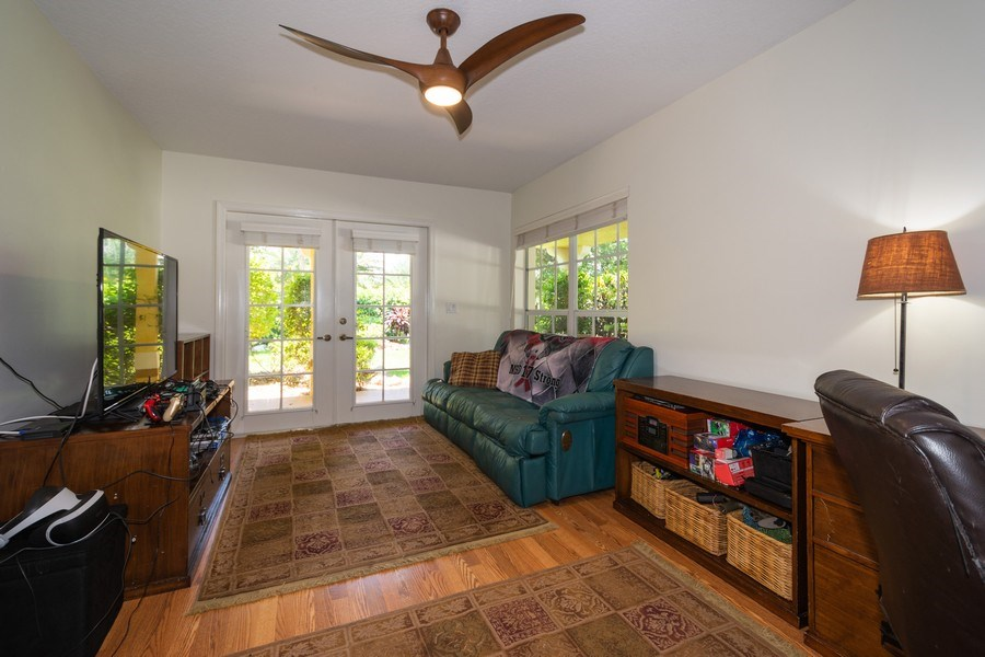 Real Estate Photography - 7250 NW 82nd Terrace, Parkland, FL, 33067 - Den