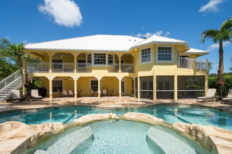 Real Estate Photography - 7250 NW 82nd Terrace, Parkland, FL, 33067 - Rear View
