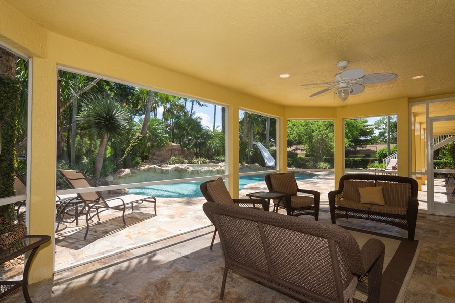 Real Estate Photography - 7250 NW 82nd Terrace, Parkland, FL, 33067 - Patio