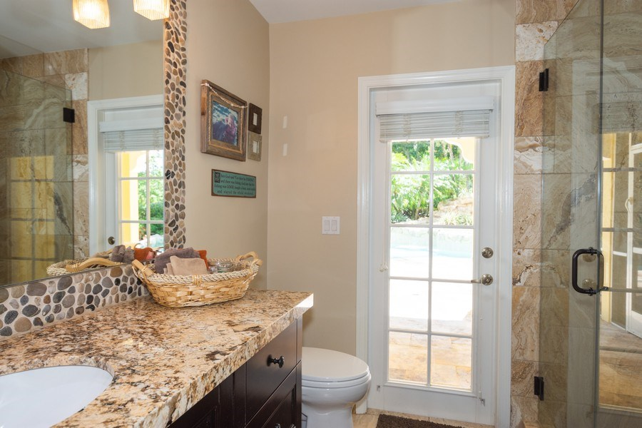 Real Estate Photography - 7250 NW 82nd Terrace, Parkland, FL, 33067 - 2nd Bathroom