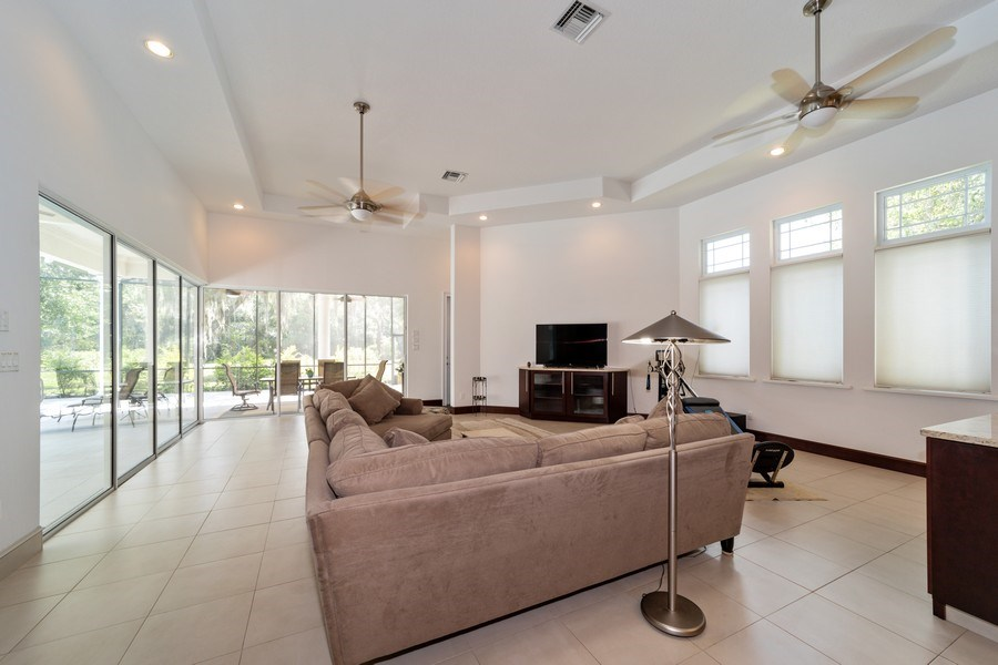 Real Estate Photography - 26052 Splendid Meadow Ct., Astatula, FL, 34705 - Family Room