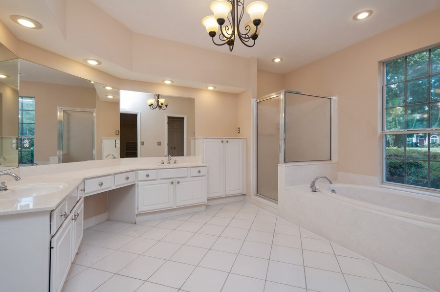 Real Estate Photography - 5306 NW 67th Street, Gainesville, FL, 32653 - Master Bathroom