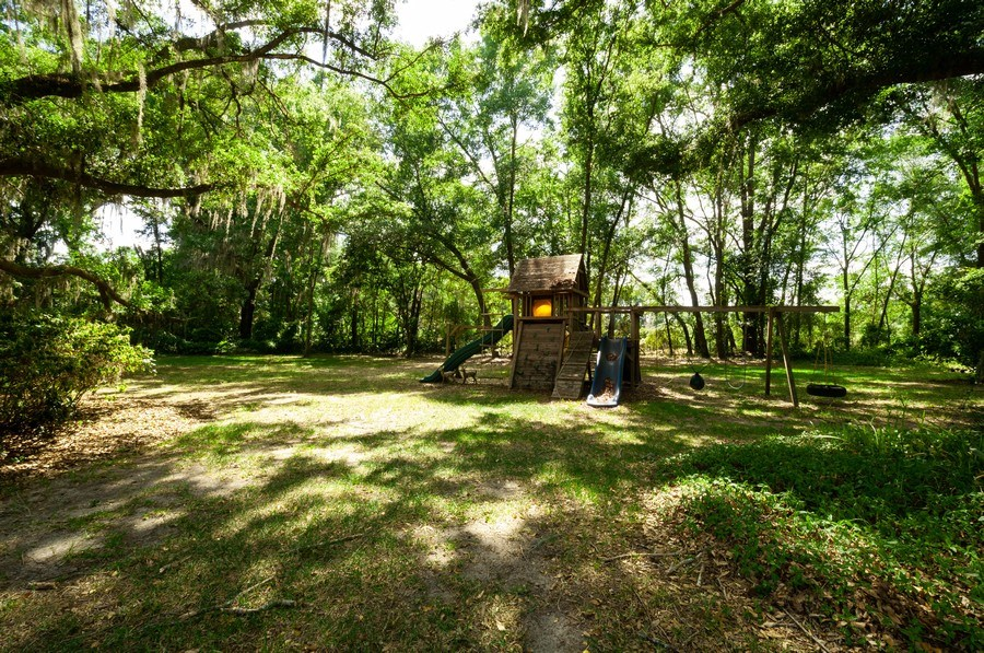Real Estate Photography - 5306 NW 67th Street, Gainesville, FL, 32653 - Back Yard