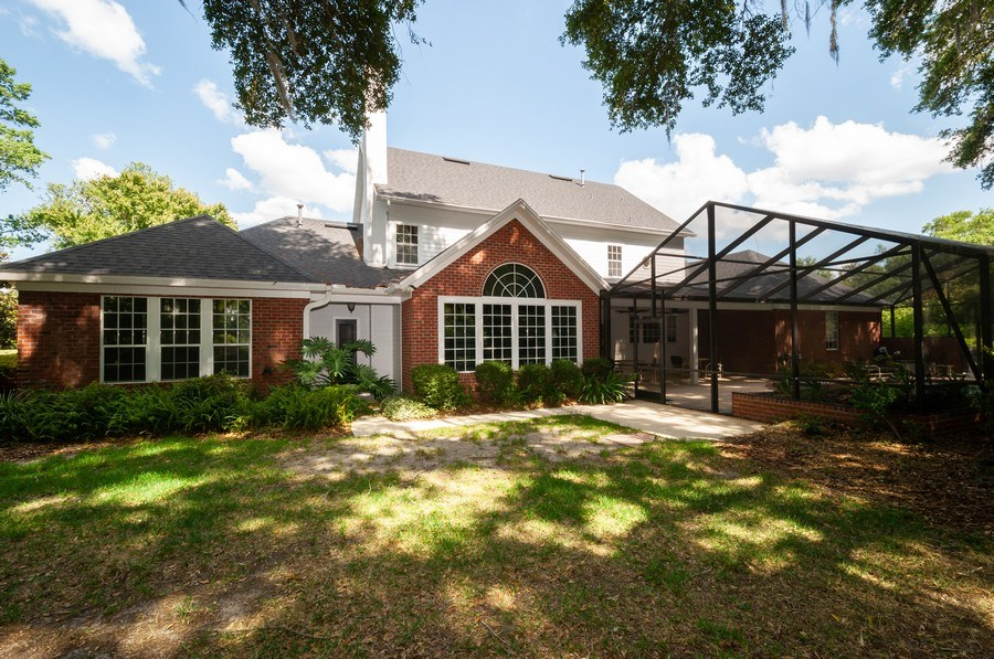 Real Estate Photography - 5306 NW 67th Street, Gainesville, FL, 32653 - Rear View