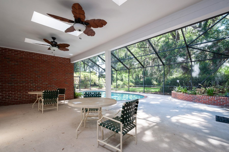 Real Estate Photography - 5306 NW 67th Street, Gainesville, FL, 32653 - Patio