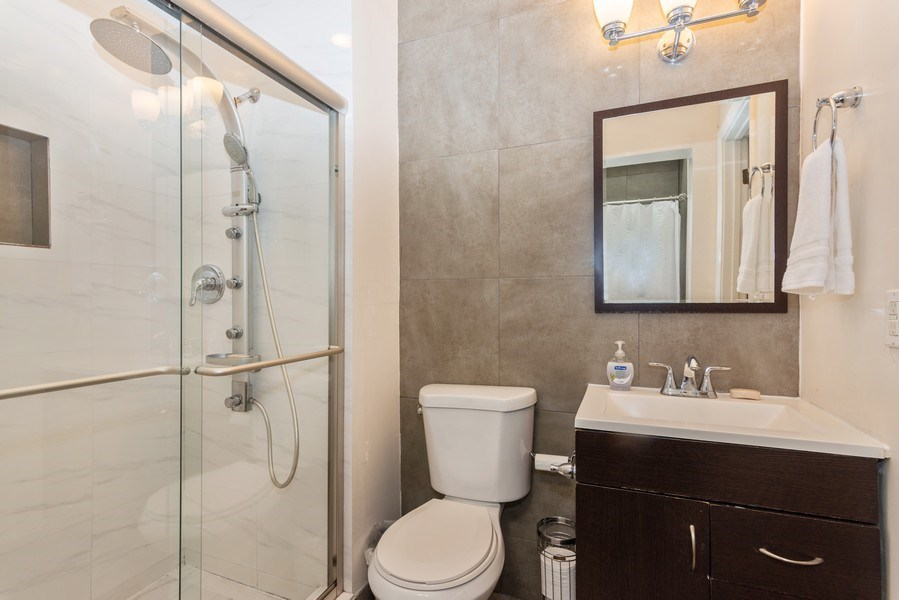 Real Estate Photography - 3920 Monserrate Street, Coral Gables, FL, 33134 - 3rd Bathroom