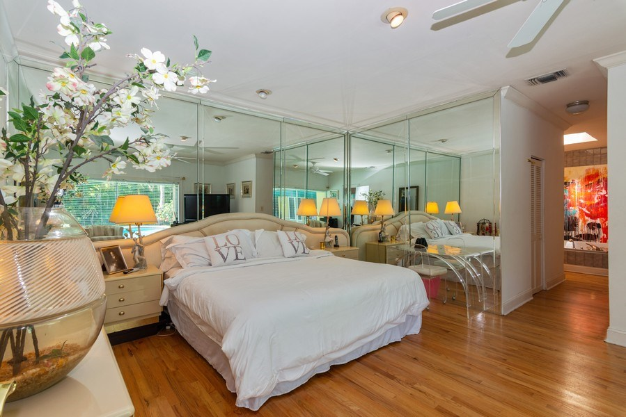 Real Estate Photography - 3920 Monserrate Street, Coral Gables, FL, 33134 - Master Bedroom