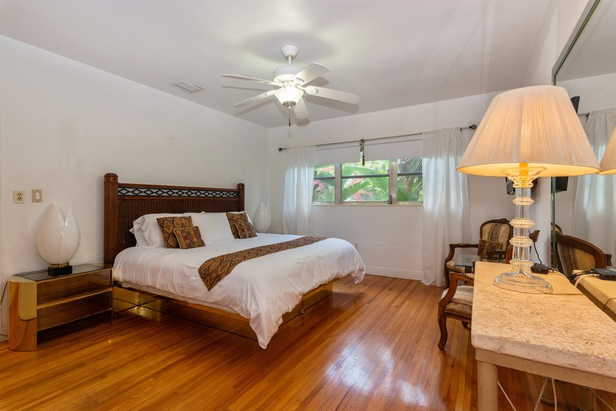 Real Estate Photography - 3920 Monserrate Street, Coral Gables, FL, 33134 - 5th Bedroom