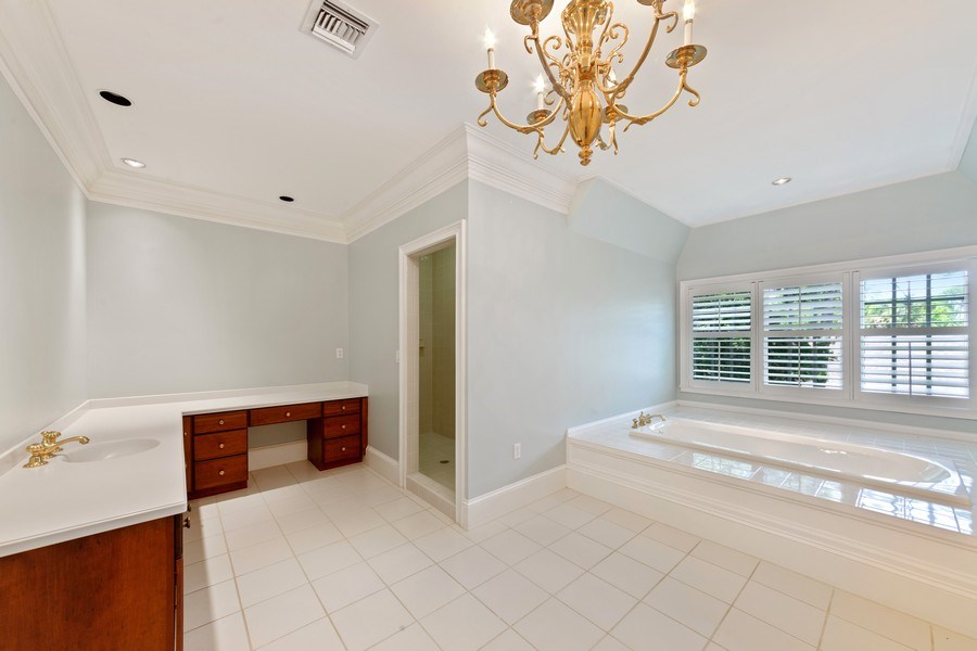Real Estate Photography - 13361 Ponderosa Way, Fort Myers, FL, 33907 - Master Bathroom