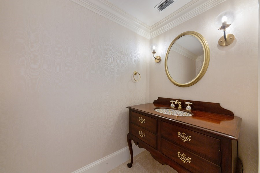 Real Estate Photography - 13361 Ponderosa Way, Fort Myers, FL, 33907 - Powder Room