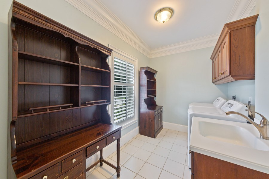 Real Estate Photography - 13361 Ponderosa Way, Fort Myers, FL, 33907 - Laundry Room