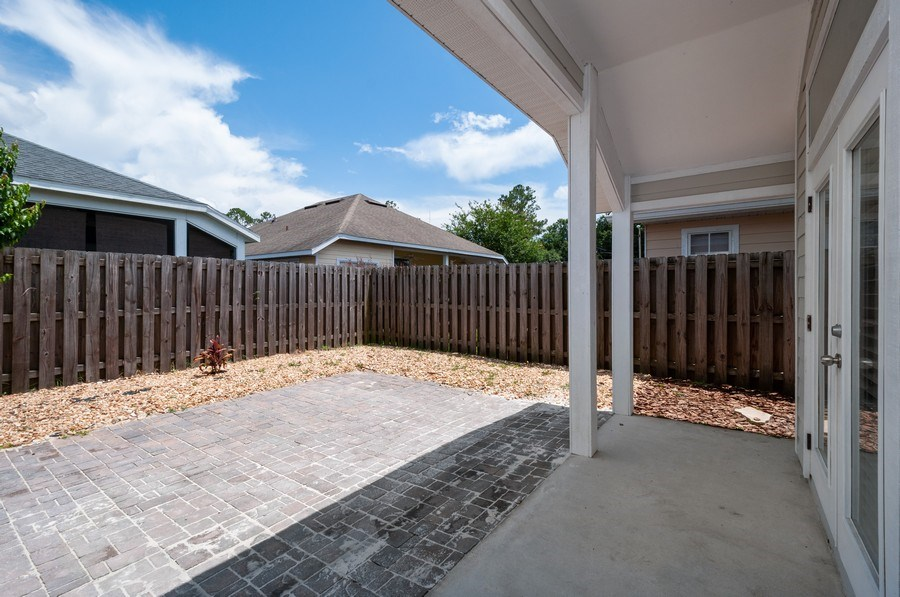 Real Estate Photography - 11737 NW 61 Terrace, Alachua, FL, 32615 - Patio