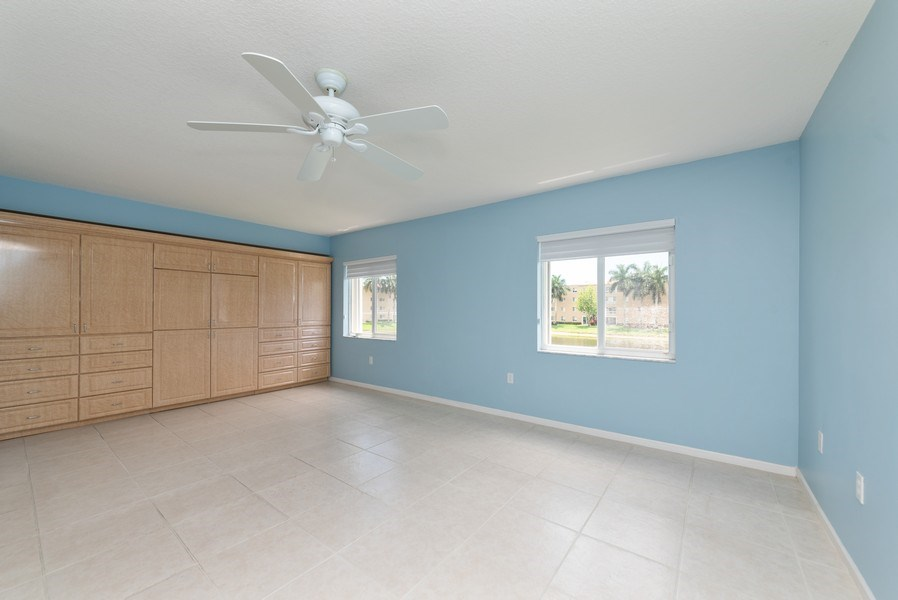 Real Estate Photography - 12529 Imperial Isle, Apt 207, Boynton Beach, FL, 33437 - Master Bedroom