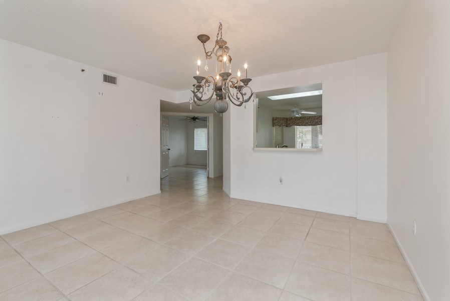 Real Estate Photography - 12529 Imperial Isle, Apt 207, Boynton Beach, FL, 33437 - Kitchen / Dining Room