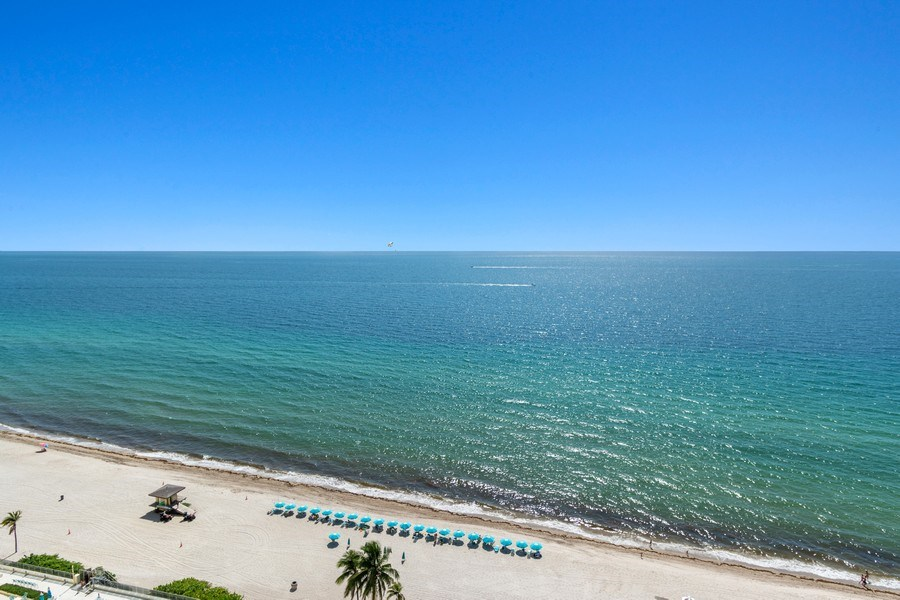 Real Estate Photography - 2711 S. Ocean Drive #1902, Hollywood, FL, 33019 - View