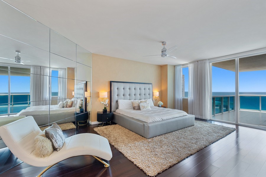 Real Estate Photography - 2711 S. Ocean Drive #1902, Hollywood, FL, 33019 - Master Bedroom