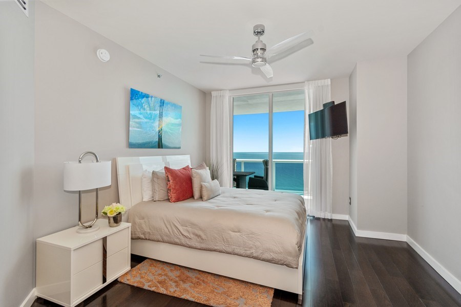Real Estate Photography - 2711 S. Ocean Drive #1902, Hollywood, FL, 33019 - Bedroom