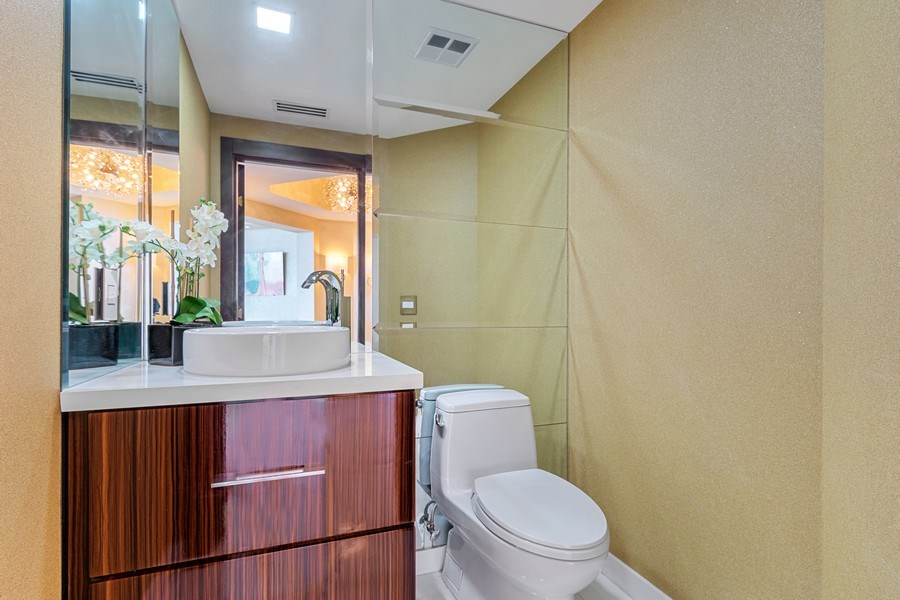Real Estate Photography - 2711 S. Ocean Drive #1902, Hollywood, FL, 33019 - Half Bath