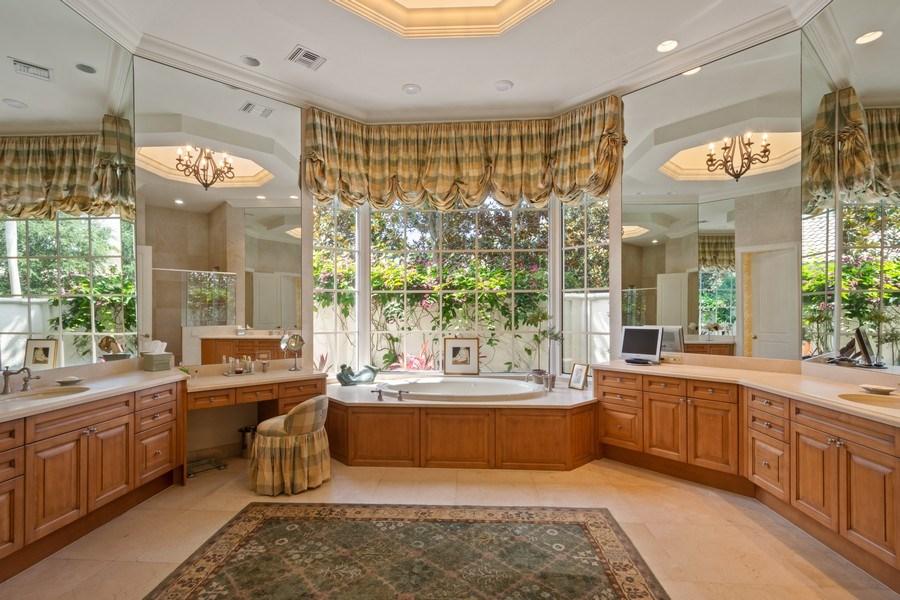Real Estate Photography - 7402 Sedona Way, Delray Beach, FL, 33446 - Master Bathroom
