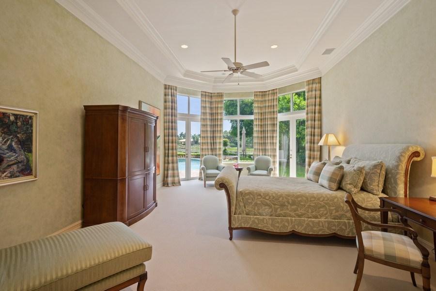 Real Estate Photography - 7402 Sedona Way, Delray Beach, FL, 33446 - Master Bedroom