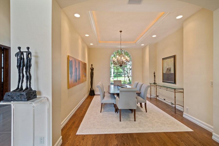 Real Estate Photography - 7402 Sedona Way, Delray Beach, FL, 33446 - Dining Room