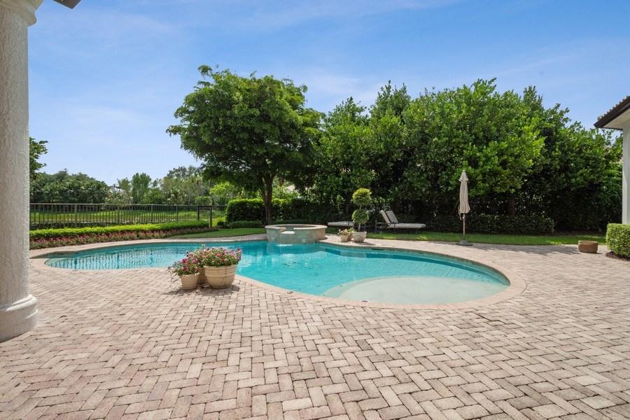 Real Estate Photography - 7402 Sedona Way, Delray Beach, FL, 33446 - Pool