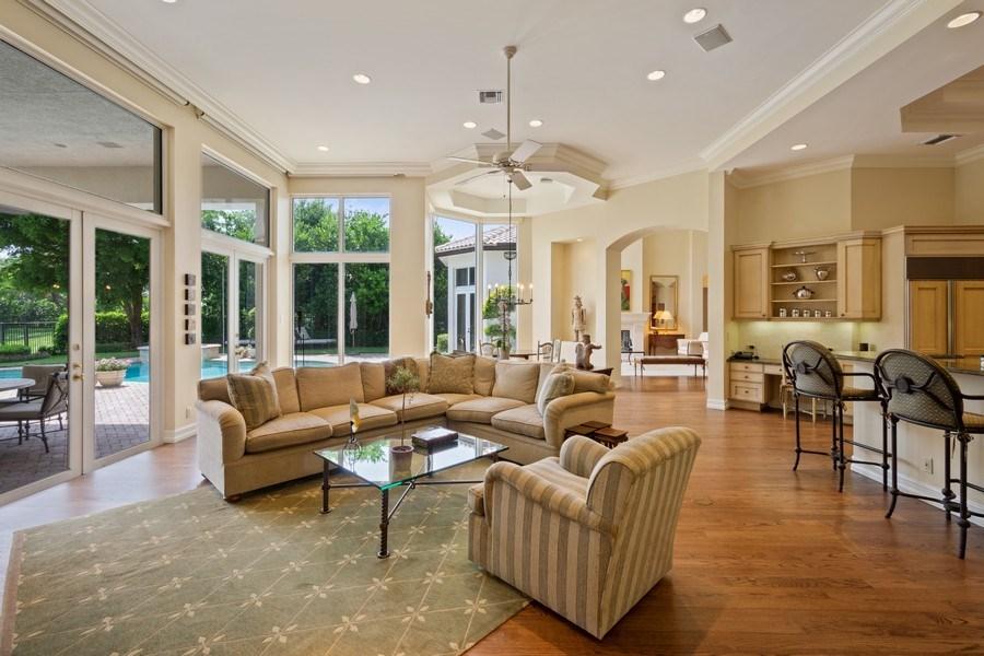 Real Estate Photography - 7402 Sedona Way, Delray Beach, FL, 33446 - Family Room