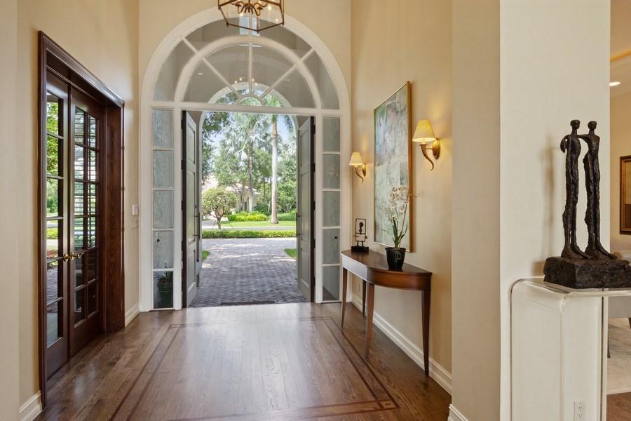 Real Estate Photography - 7402 Sedona Way, Delray Beach, FL, 33446 - Foyer