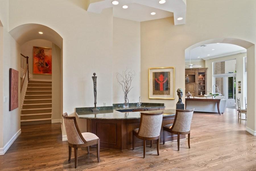 Real Estate Photography - 7402 Sedona Way, Delray Beach, FL, 33446 - Bar