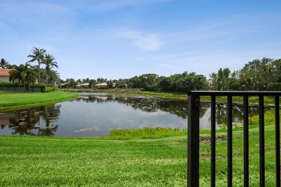 Real Estate Photography - 7402 Sedona Way, Delray Beach, FL, 33446 - Lake View