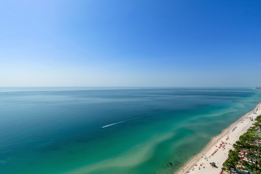 Real Estate Photography - 18101 Collins Ave. #PH5404, Sunny Isles Beach, FL, 33160 - View
