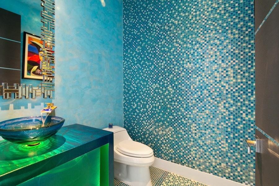 Real Estate Photography - 18101 Collins Ave. #PH5404, Sunny Isles Beach, FL, 33160 - Half Bath