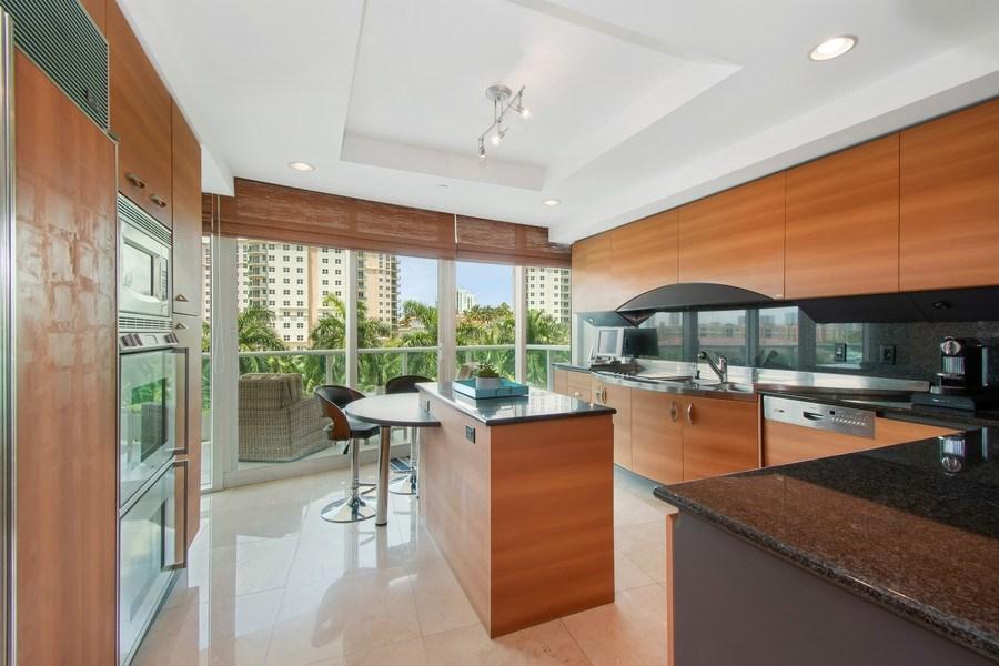 Real Estate Photography - 19955 NE 38th Ct. #601, Aventura, FL, 33180 - Kitchen