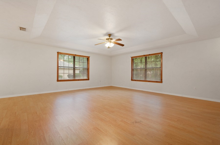 Real Estate Photography - 115 SE 6th Street, Micanopy, FL, 32667 - Family Room