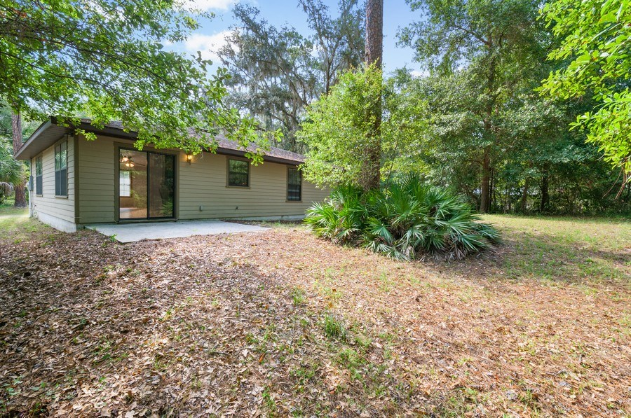 Real Estate Photography - 115 SE 6th Street, Micanopy, FL, 32667 - Rear View
