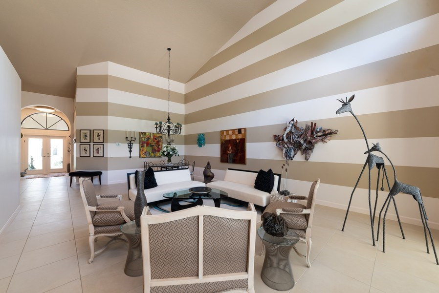 Real Estate Photography - 7425 Campo Florido, Boca Raton, FL, 33433 - Foyer/Living Room