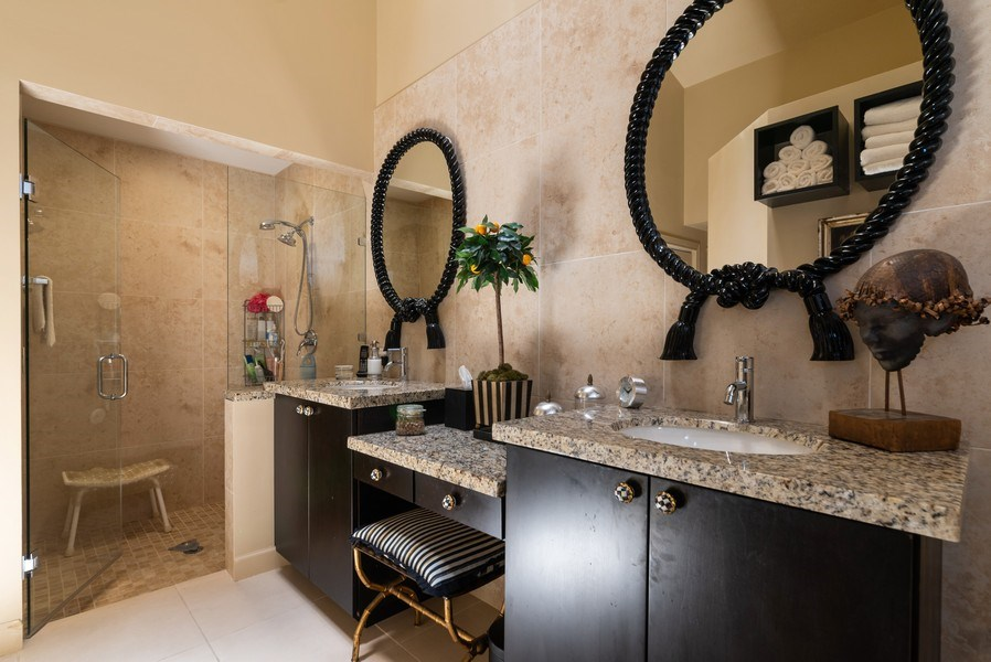 Real Estate Photography - 7425 Campo Florido, Boca Raton, FL, 33433 - Master Bathroom