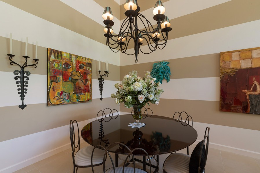 Real Estate Photography - 7425 Campo Florido, Boca Raton, FL, 33433 - Dining Room