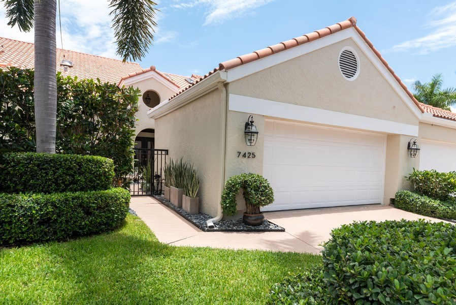 Real Estate Photography - 7425 Campo Florido, Boca Raton, FL, 33433 - Front View