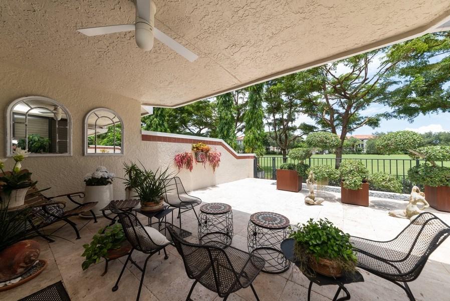 Real Estate Photography - 7425 Campo Florido, Boca Raton, FL, 33433 - Patio