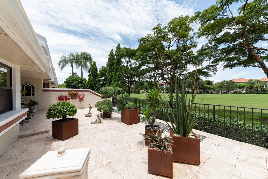Real Estate Photography - 7425 Campo Florido, Boca Raton, FL, 33433 - Patio