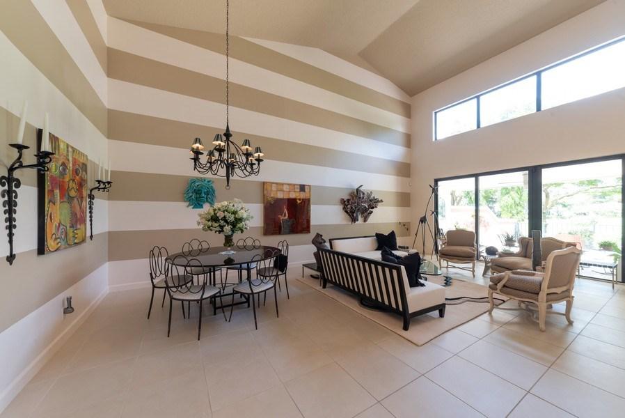 Real Estate Photography - 7425 Campo Florido, Boca Raton, FL, 33433 - Living Room / Dining Room